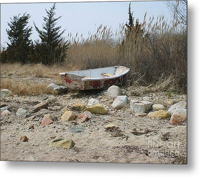 The Forgotten Dingy Metal Print