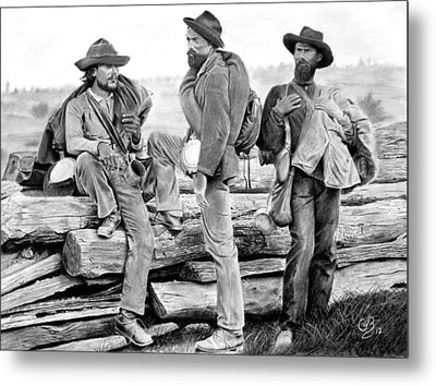 The Forgotten Soldiers Metal Print