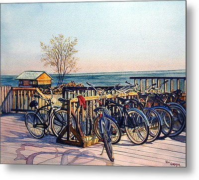 The Forgotten Sweater Metal Print by Terri  Meyer