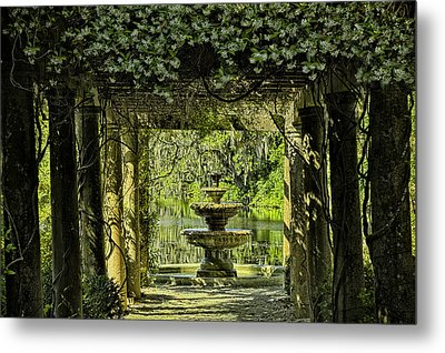 The Fountain Metal Print by Denis Lemay