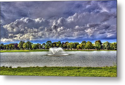 The Fountain Metal Print by Tim Buisman