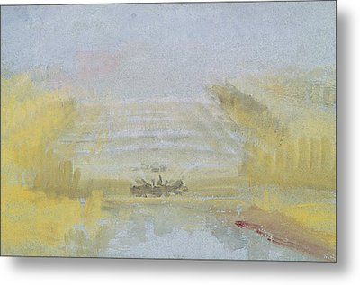 The Fountains At Versailles Metal Print by Joseph Mallord William Turner