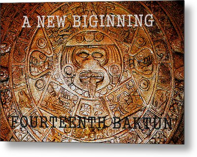 The Fourteenth Baktun Metal Print