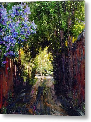 The Fragrant Passage Metal Print by Steven Boone