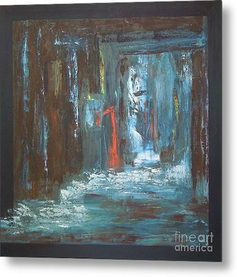 Metal Print featuring the painting The Free Passage by Mini Arora