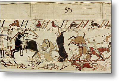 The Bayeux Tapestry Metal Print