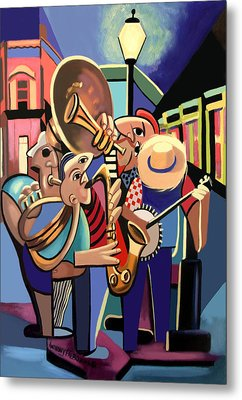 The French Quarter Metal Print by Anthony Falbo