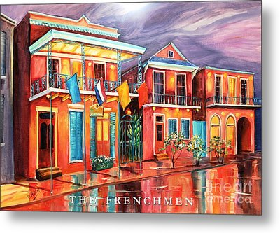 The Frenchmen Hotel New Orleans Metal Print by Diane Millsap