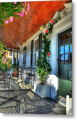 The Front Porch 2 Metal Print by Mel Steinhauer