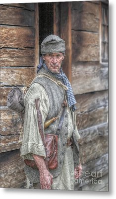 The Frontiersman Metal Print by Randy Steele