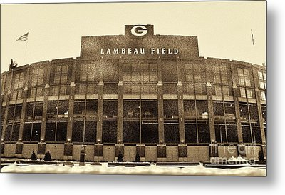 The Frozen Tundra Metal Print by Tommy Anderson