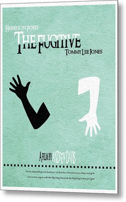The Fugitive Metal Print by Ayse Deniz