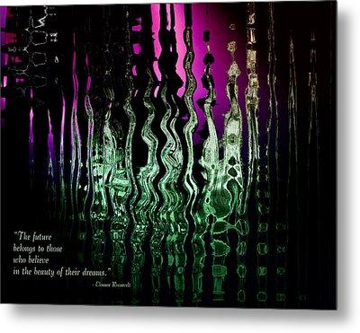 The Future Metal Print by Gerlinde Keating - Galleria GK Keating Associates Inc