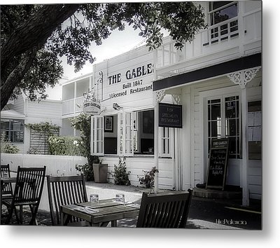 The Gable In Russell Metal Print