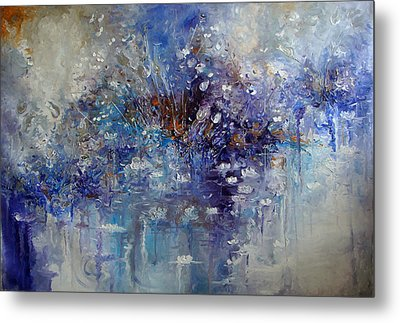 The Garden Monet Didn't See Metal Print by Hermes Delicio