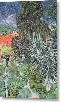 The Garden Of Doctor Gachet At Auvers-sur-oise Metal Print by Vincent van Gogh