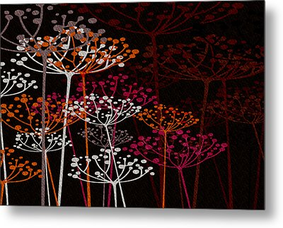 The Garden Of Your Mind 1 Metal Print