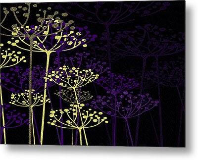 The Garden Of Your Mind 5 Metal Print