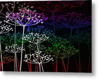 The Garden Of Your Mind Rainbow 2 Metal Print
