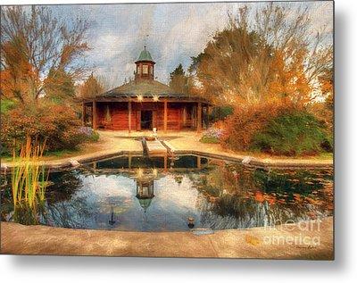 The Garden Pavilion Metal Print by Darren Fisher