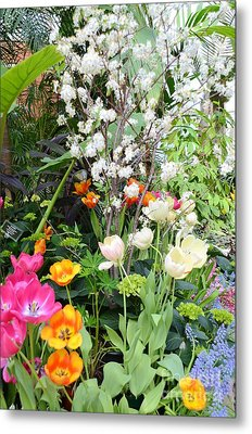 The Gardens Metal Print by Kathleen Struckle
