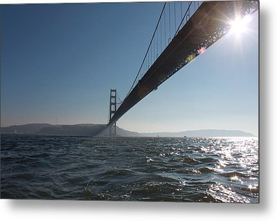 Metal Print featuring the photograph The Gate by Lennie Green