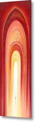 The Gate Of Light Metal Print by Anna Ewa Miarczynska