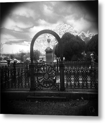 The Gate Metal Print by Paul Anderson
