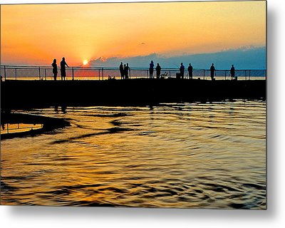 The Gathering Spot Metal Print by Frozen in Time Fine Art Photography