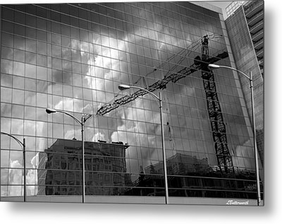 The Gathering Storm Metal Print by Larry Butterworth