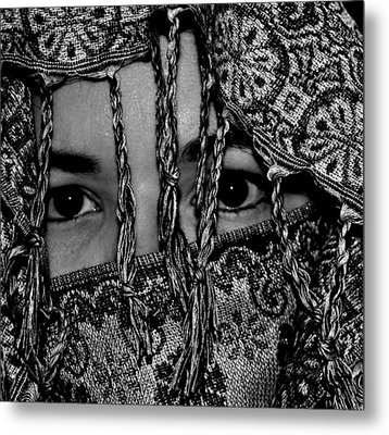 The Gaze Metal Print by Michelle McPhillips