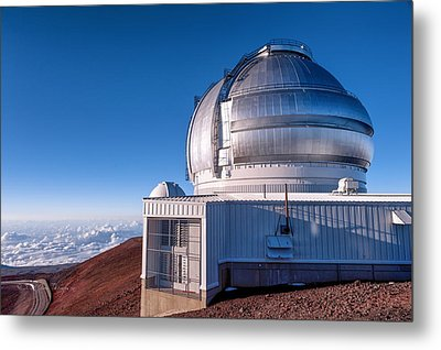 Metal Print featuring the photograph The Gemini Observatory by Jim Thompson