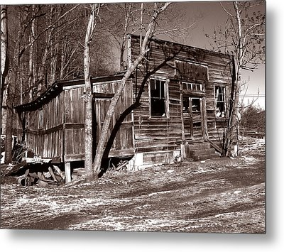 Metal Print featuring the photograph The General Store by Craig T Burgwardt