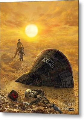 The Genesis Conspiracy Metal Print by Stu Shepherd