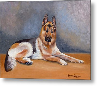 The German Sheppard Metal Print
