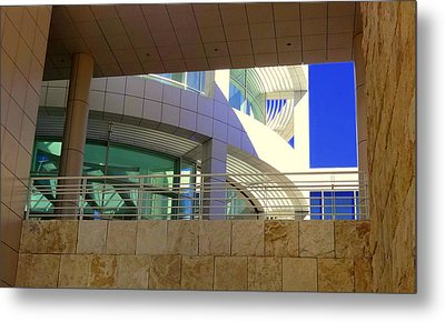 The Getty Metal Print