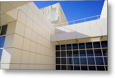 The Getty Museum #2 Metal Print