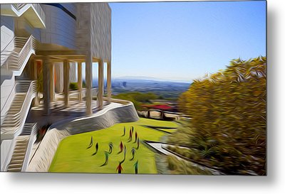 The Getty Museum #5 Metal Print