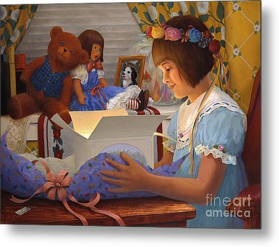 The Gift Metal Print by Charles Fennen