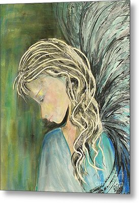 Metal Print featuring the painting The Gift by Jane Chesnut