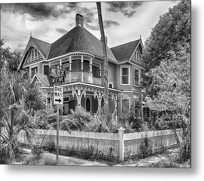 Metal Print featuring the photograph The Gingerbread House by Howard Salmon