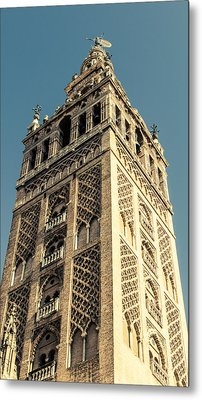 The Giralda Of Seville Metal Print by Andrea Mazzocchetti