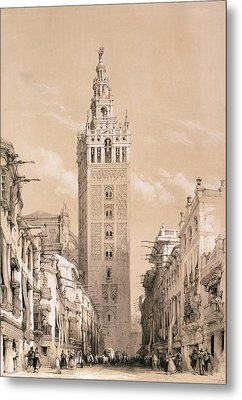 The Giralda, Seville Metal Print by David Roberts