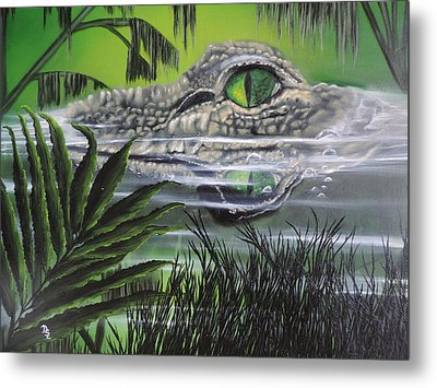 The Glades Metal Print