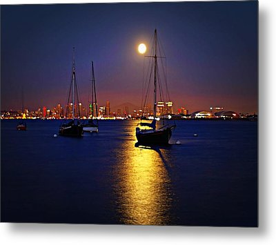 The Glory Of The Heavenly Bodies Metal Print by Sharon Soberon