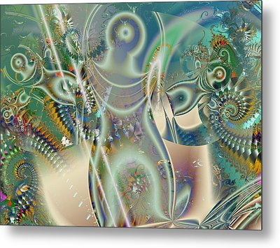 The Goddess Metal Print by Mary Almond