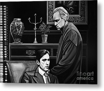 The Godfather  Metal Print by Paul Meijering