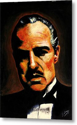 Godfather Metal Print