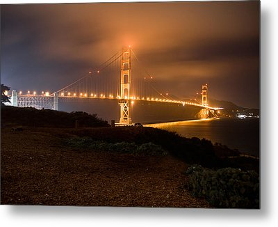Metal Print featuring the photograph The Golden Gate by Brent Durken