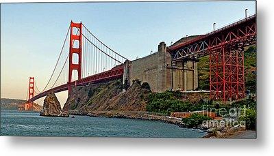 The Golden Gate Bridge  Metal Print by Jim Fitzpatrick